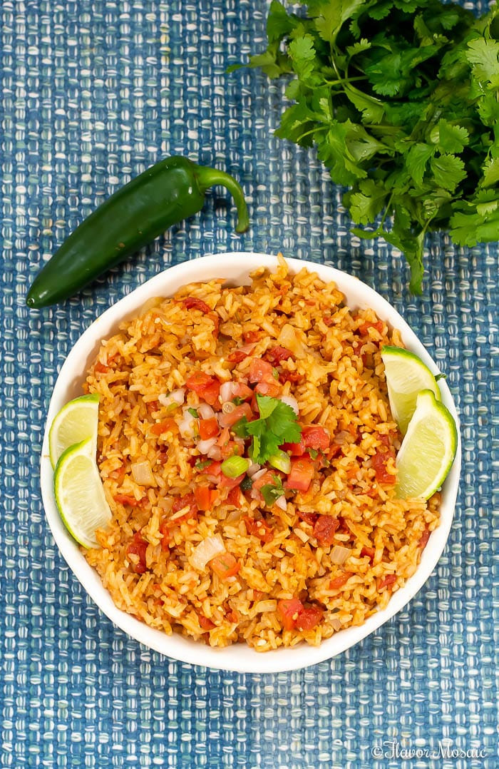 Mexican Rice Dishes  Easy Homemade Mexican Rice Spanish Rice Flavor Mosaic