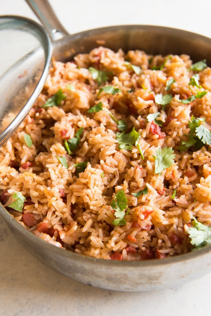 Mexican Rice Dishes  Homemade Mexican Rice aka Spanish Rice House of Nash Eats