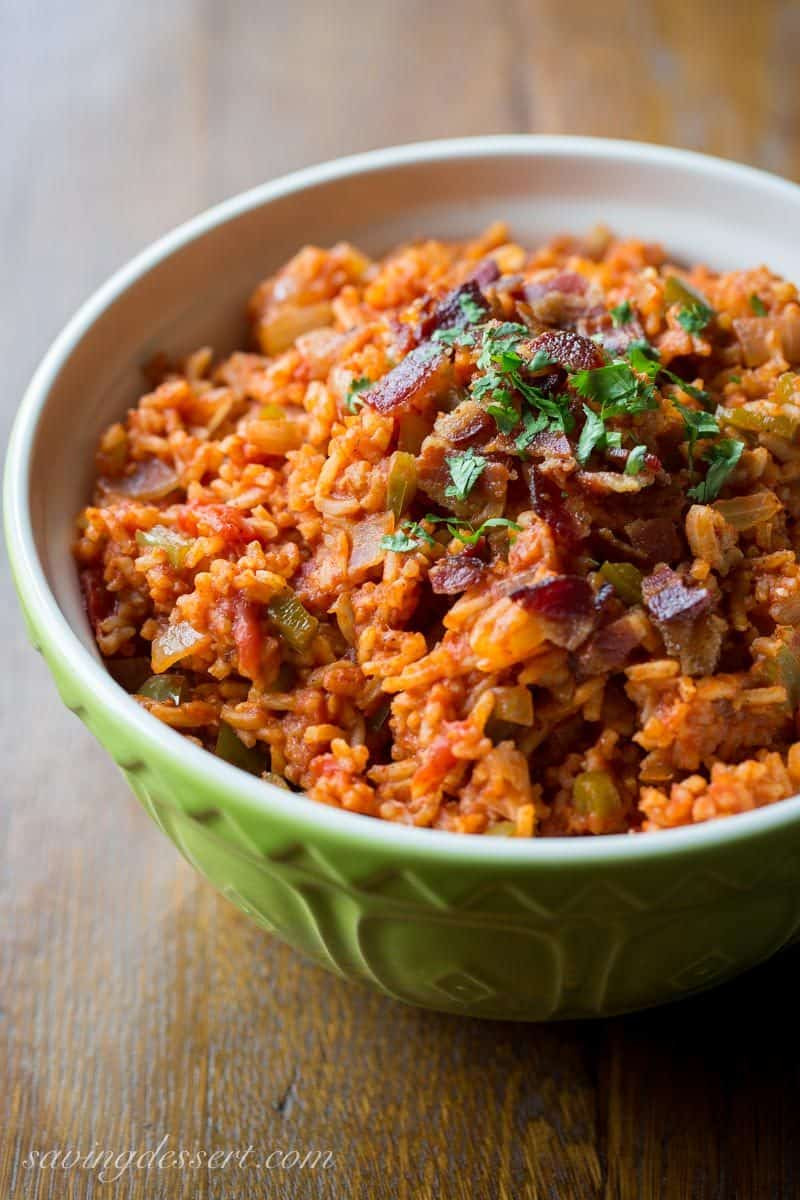 Mexican Rice Dishes  Easy Spanish Rice Recipe Saving Room for Dessert