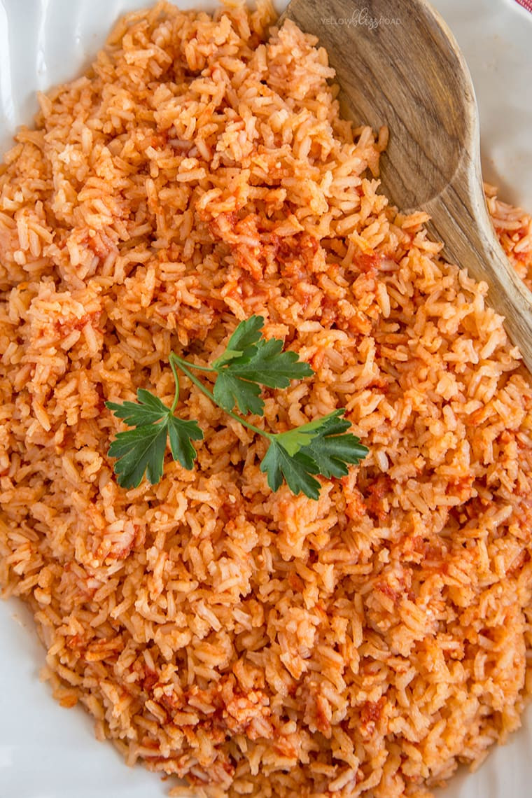 Mexican Rice Dishes  Authentic Mexican Rice Yellow Bliss Road