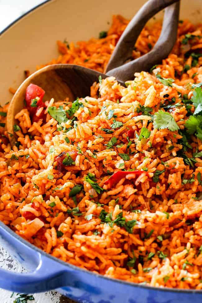 Mexican Rice Dishes  BEST EVER Restaurant Style Mexican Rice tips and tricks