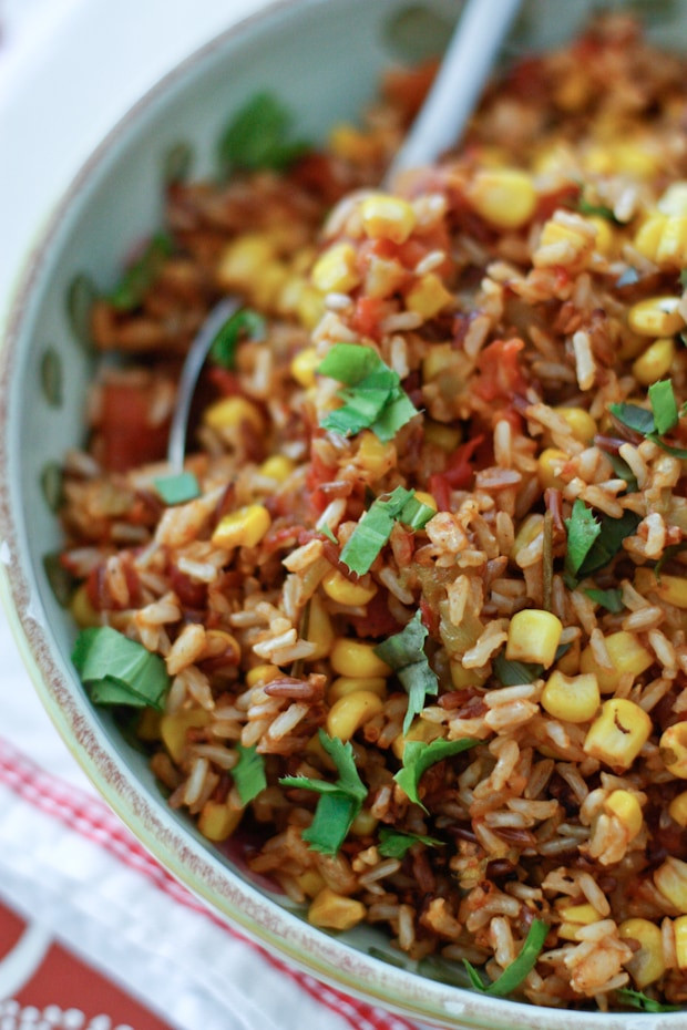 Mexican Rice Dishes  Mexican Wild Rice Recipe and a Zojirushi Rice Cooker Giveaway