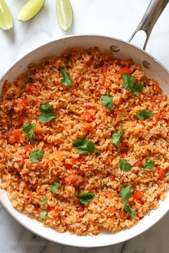 Mexican Rice Dishes  Quick Mexican Brown Rice