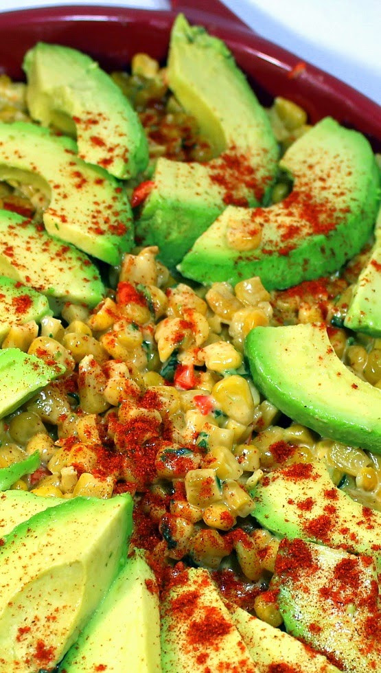 Mexican Side Dishes  52 Ways to Cook Mexican Corn with Creamy Avocado 52