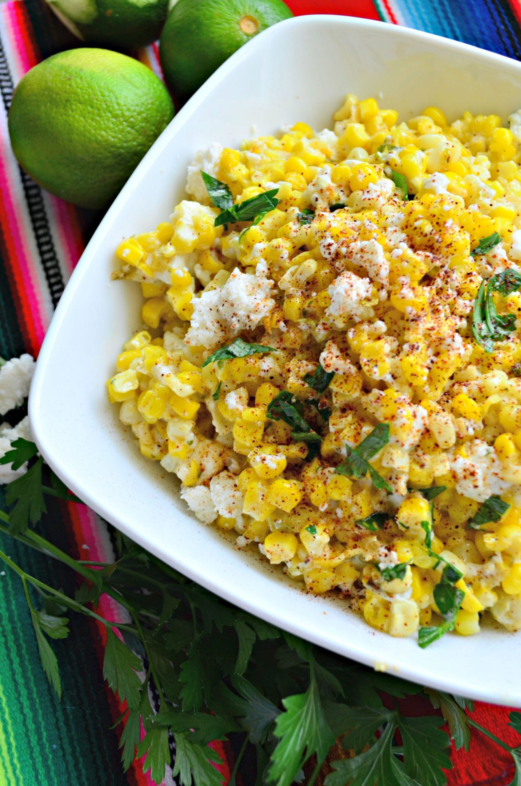 Mexican Side Dishes  Mexican Street Corn Salad Katie s Cucina