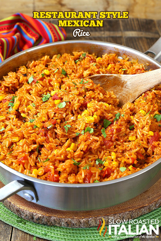 Mexican Style Rice  Restaurant Style Mexican Rice With VIDEO