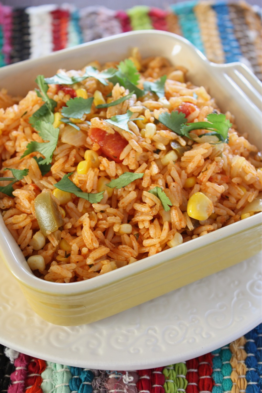 Mexican Style Rice  A Big MouthfulEasy Restaurant Style Mexican Rice A Big