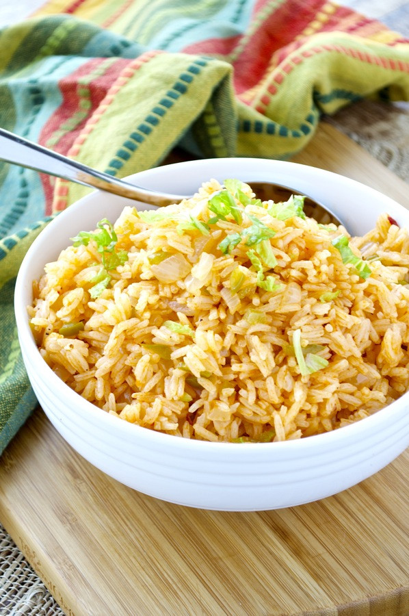 Mexican Style Rice  Mexican Rice Fashionable Foods