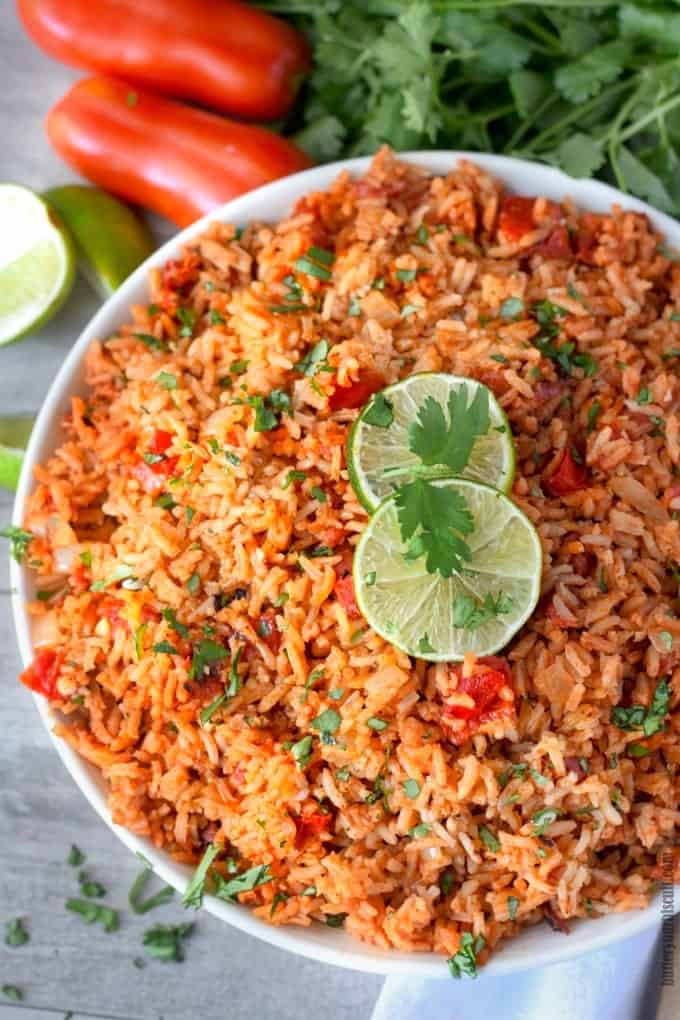 Mexican Style Rice  Restaurant Style Mexican Rice Recipe Butter Your Biscuit