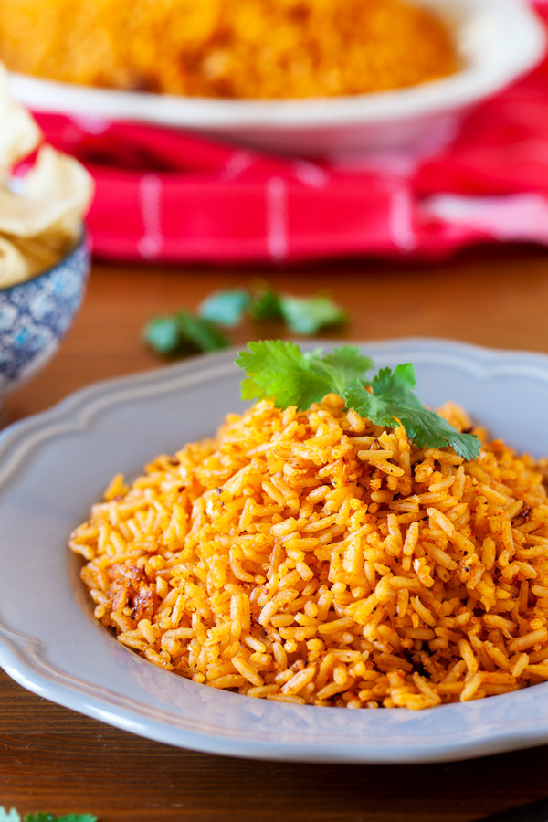 Mexican Style Rice  Restaurant Style Mexican Rice