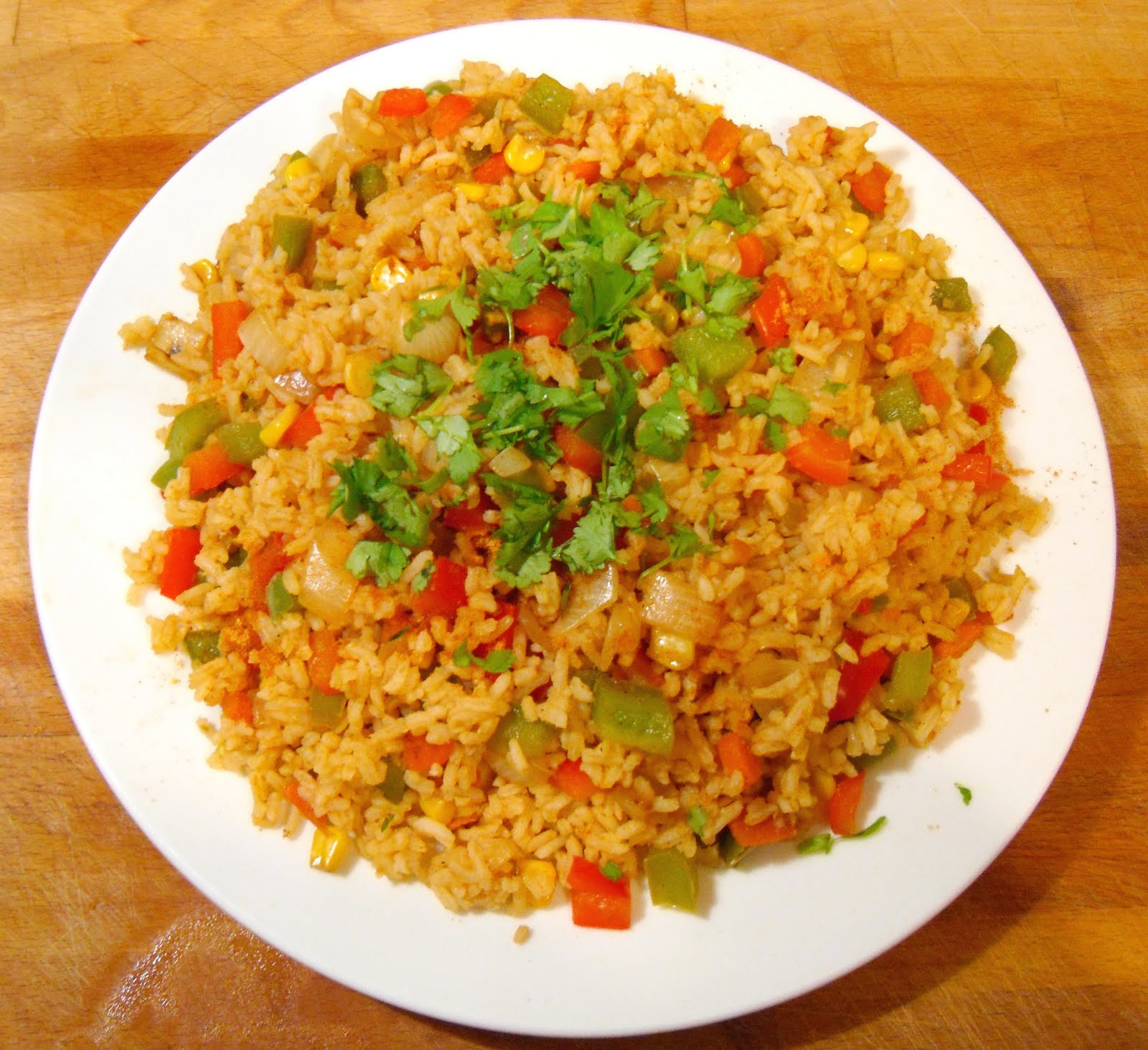 Mexican Style Rice  Mexican Style Rice A Dash Flavour Printable Recipes