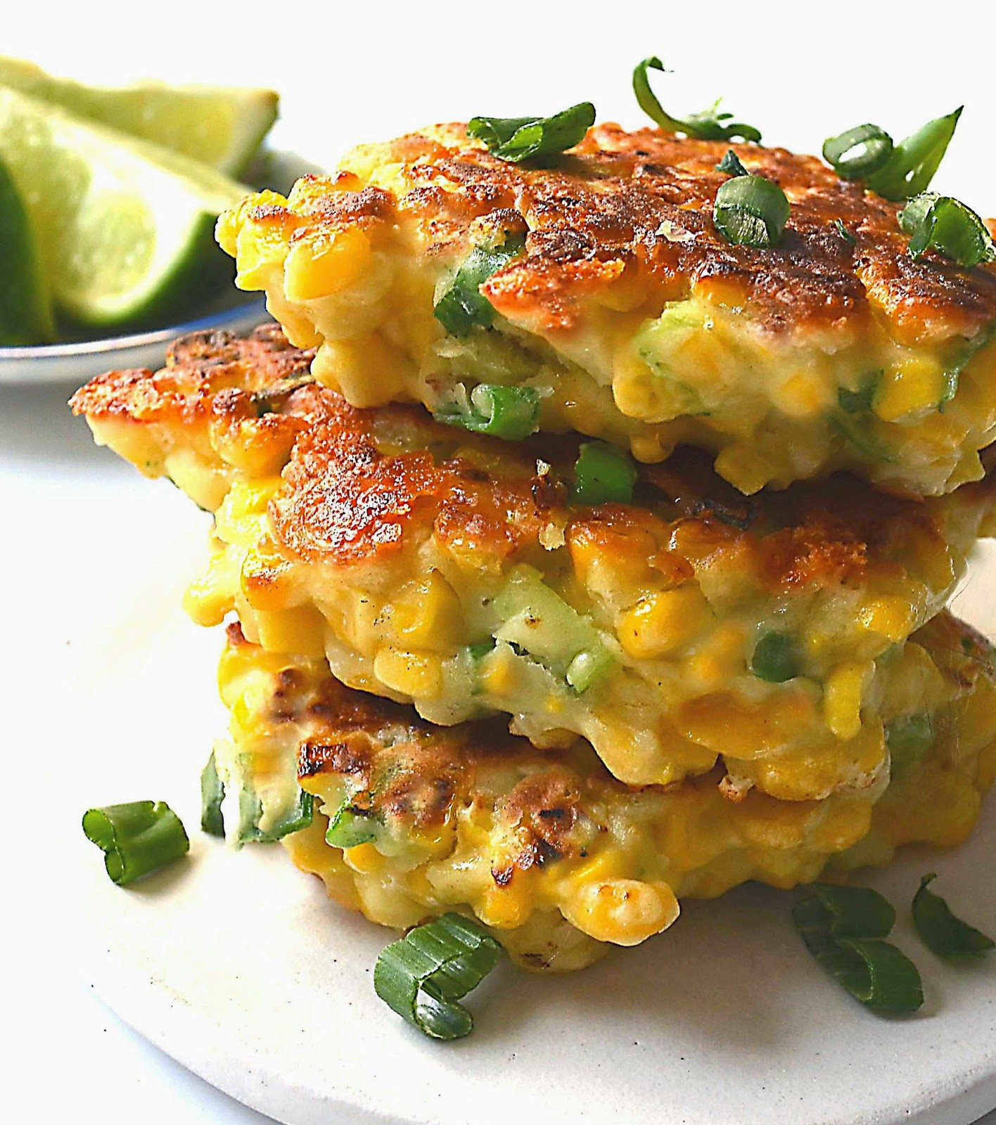 Mexican Sweet Corn Cake Recipe  Sew French Mexican Corn Cakes with Jalapeno & Lime