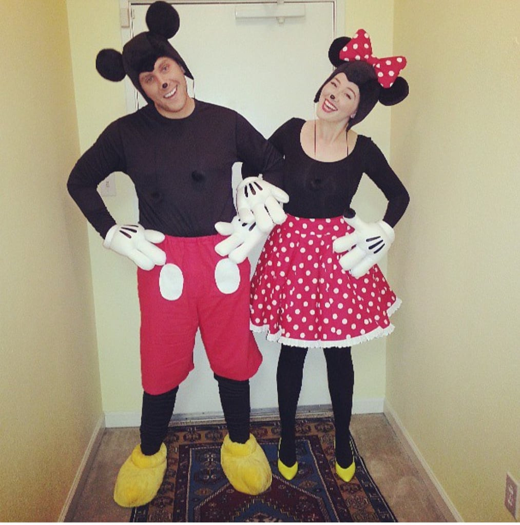 Mickey Mouse Costume DIY  Mickey and Minnie Mouse