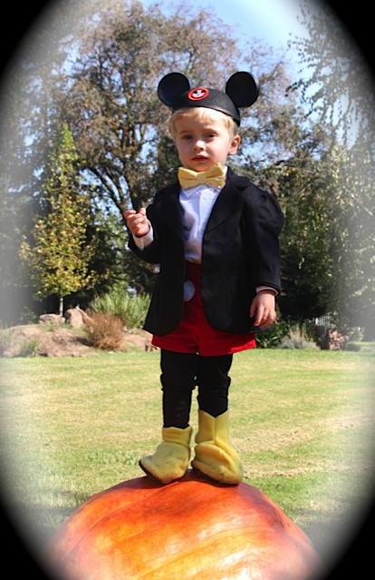 Mickey Mouse Costume DIY  Mickey Mouse costume yes for a boy girl Inspired