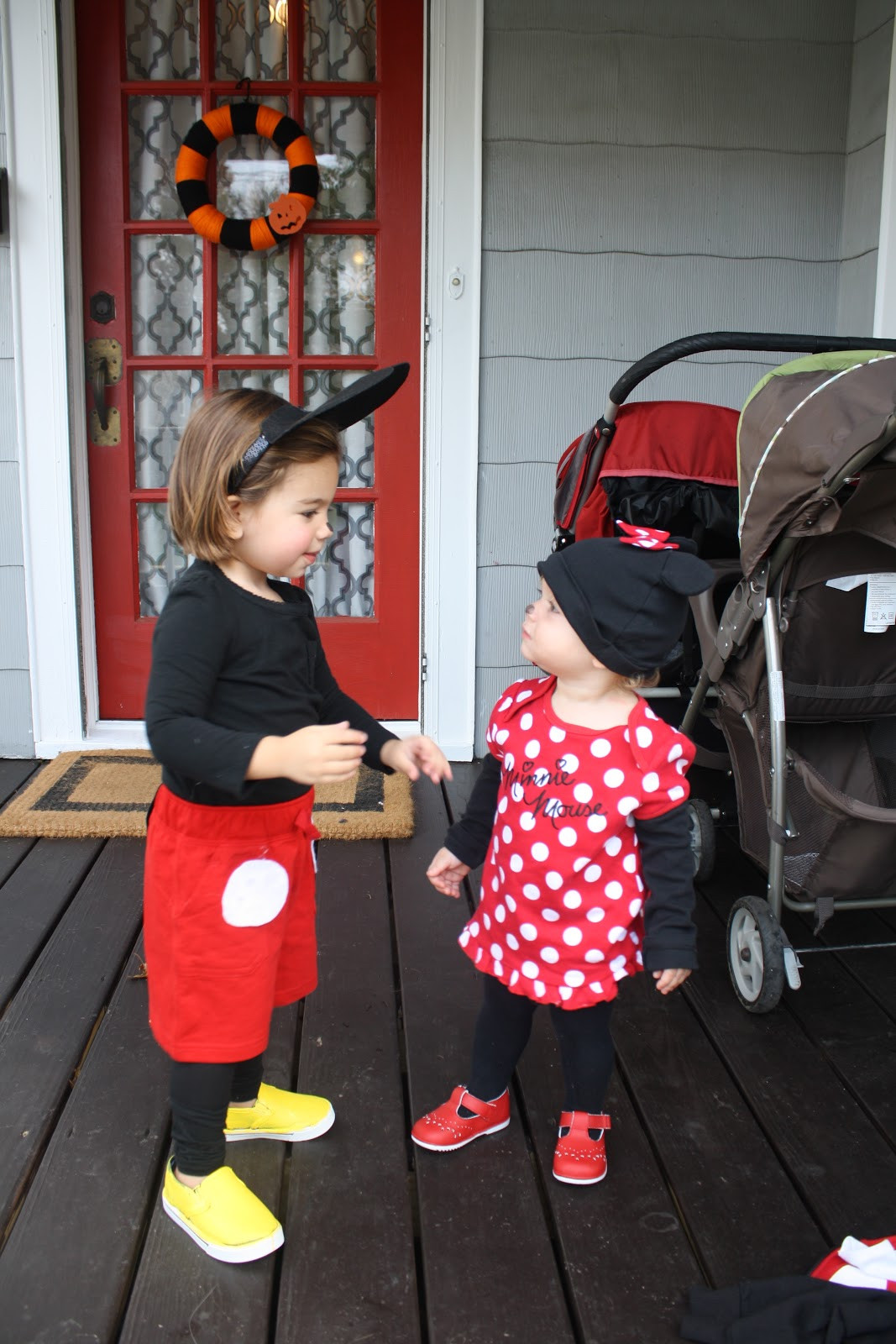 Mickey Mouse Costume DIY  DIY Halloween Costume Mickey Mouse The Chirping Moms