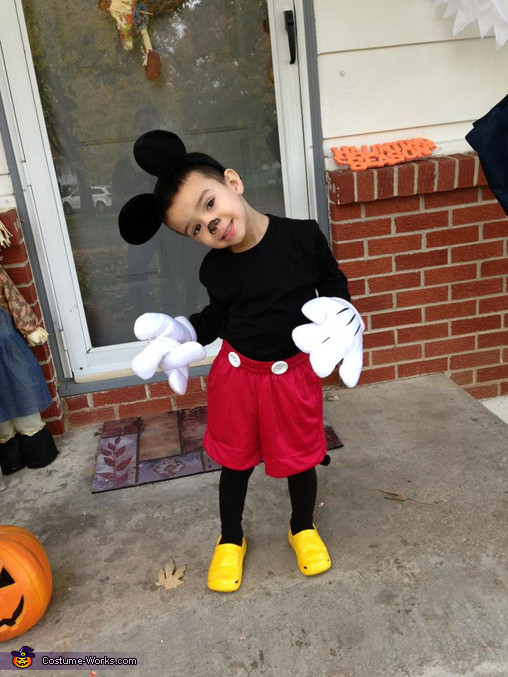 Mickey Mouse Costume DIY  Mickey Mouse Costume