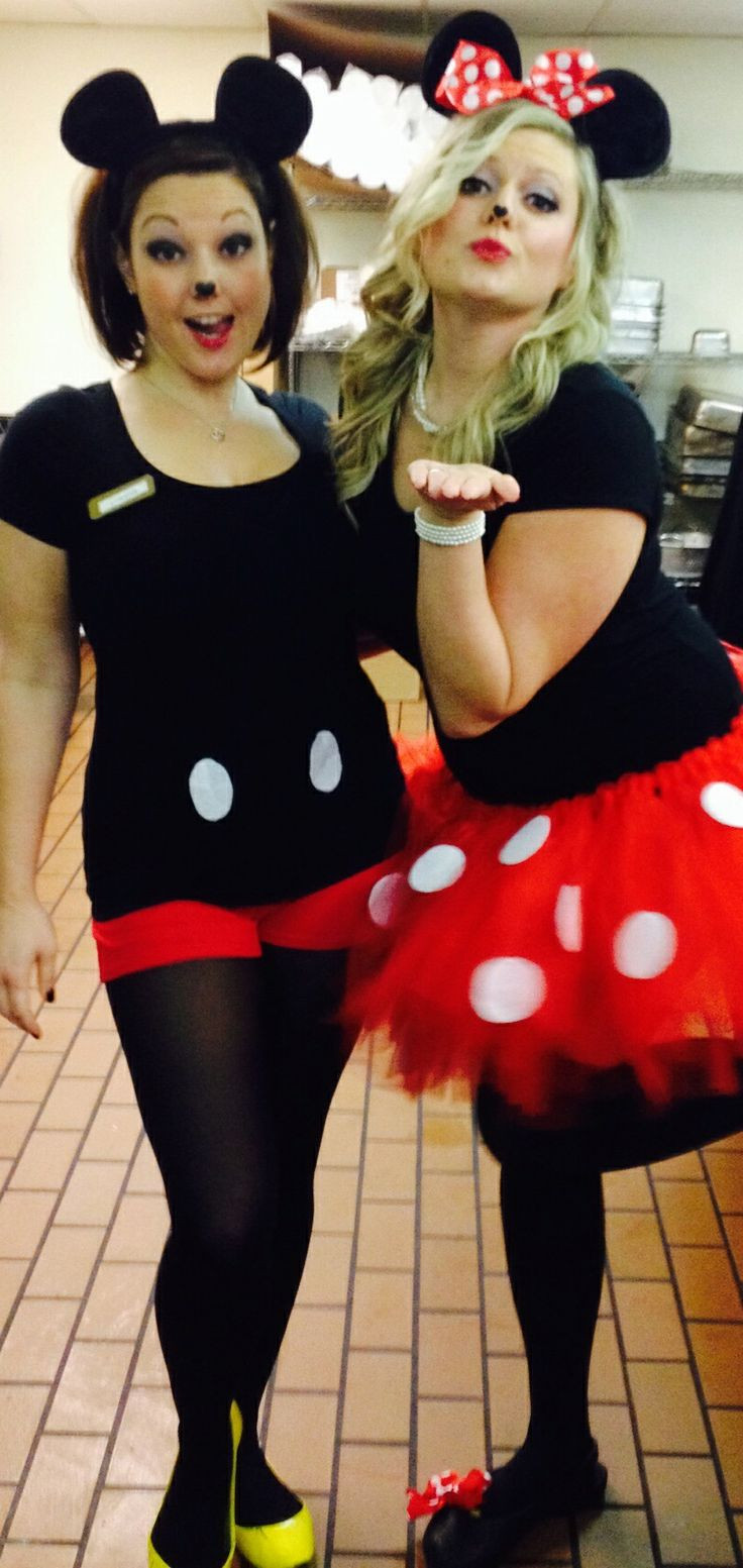 Mickey Mouse Costume DIY  DIY Mickey and Minnie Mouse Costumes