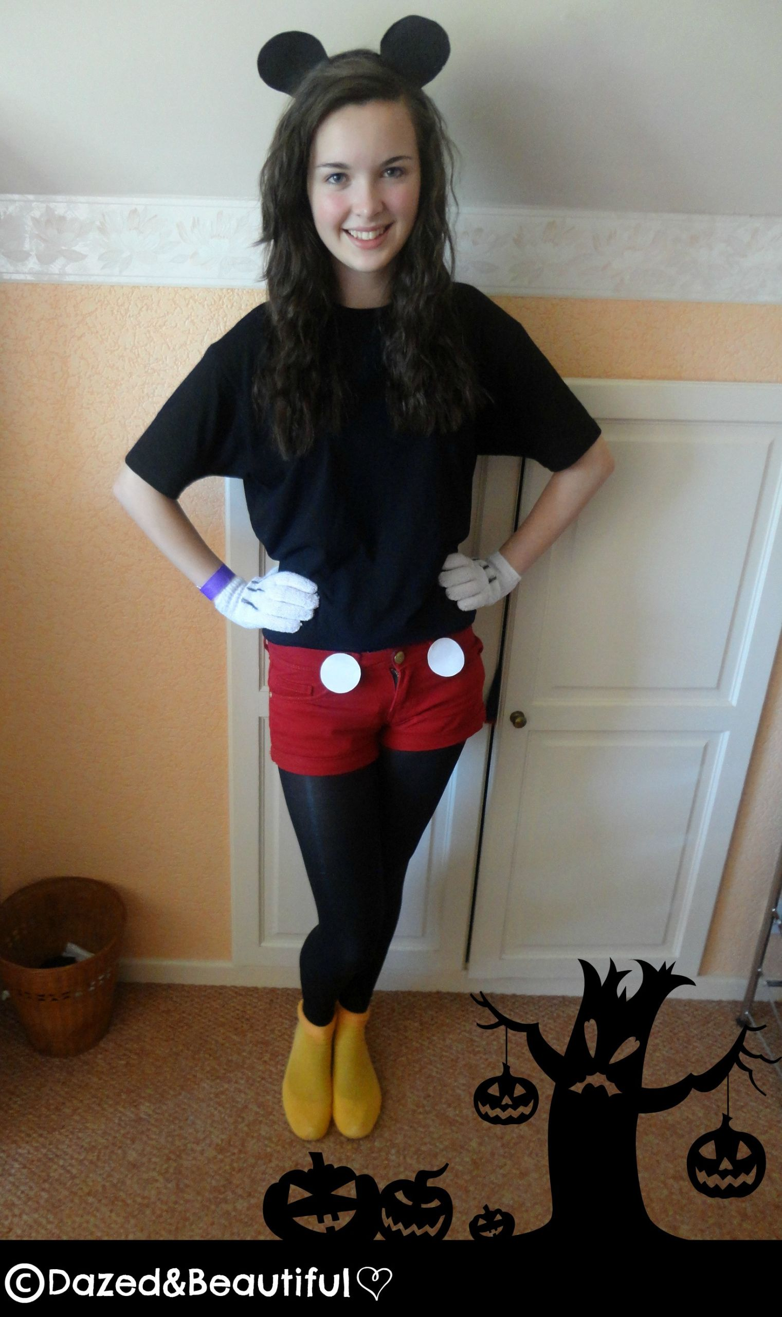 Mickey Mouse Costume DIY  DIY Mickey Mouse Costume