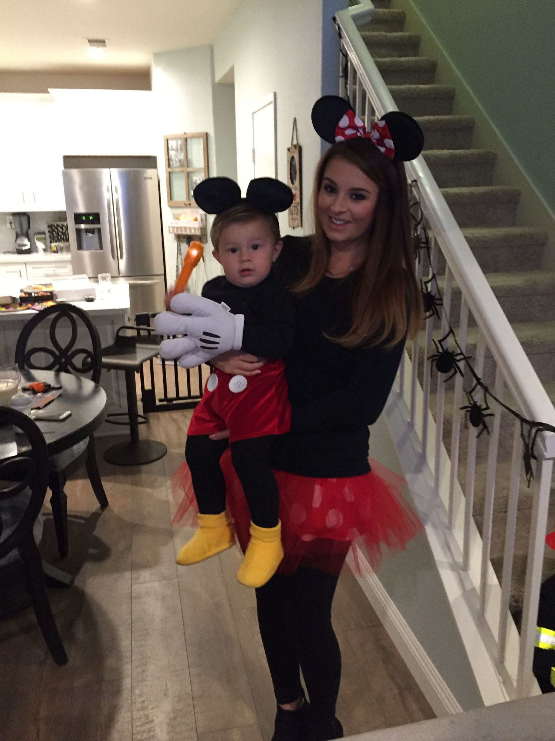 Mickey Mouse Costume DIY  Mickey Mouse Halloween