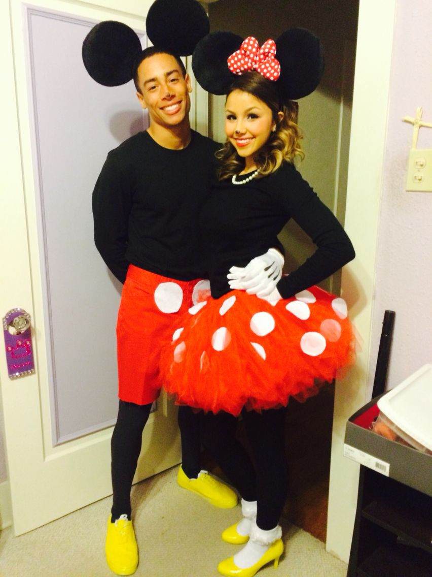 Mickey Mouse Costume DIY  10 Cute & Funny Couple DIY Costume Ideas for Cosplay