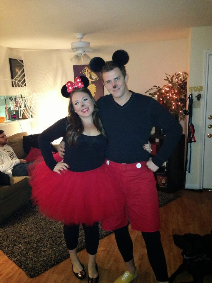 Mickey Mouse Costume DIY  Southern FIT DIY Minnie & Mickey Mouse Costume