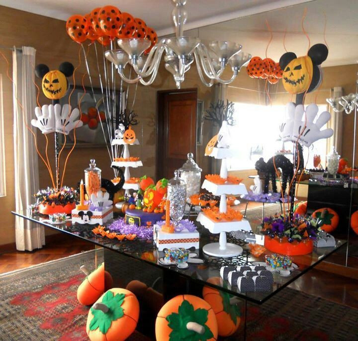 Mickey Mouse Halloween Party Ideas  Mickey Mouse Halloween party