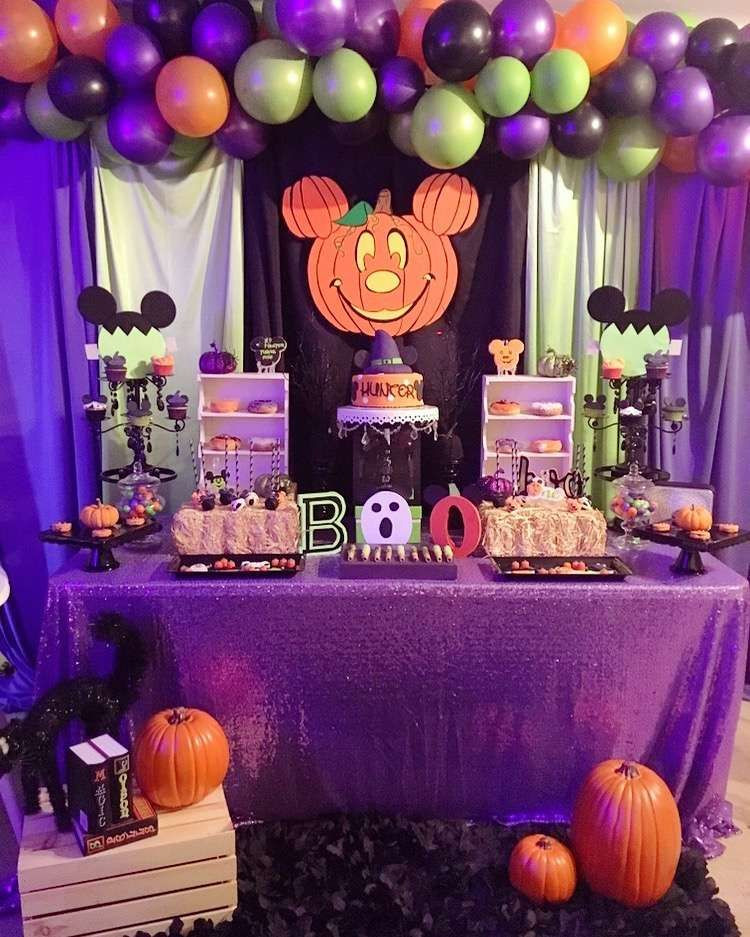 Mickey Mouse Halloween Party Ideas  Check out this fun Mickey Mouse Halloween Birthday Party