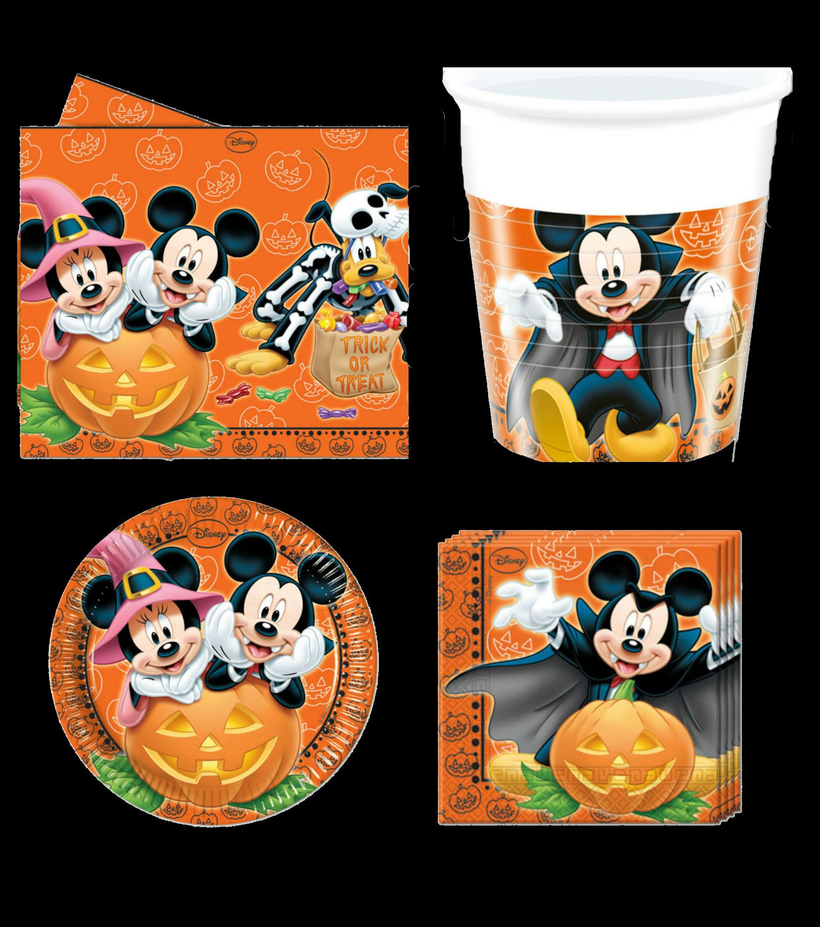 Mickey Mouse Halloween Party Ideas  Mickey Mouse Halloween party paper goods