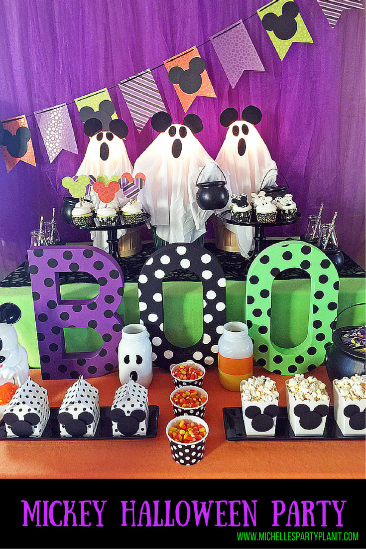 Mickey Mouse Halloween Party Ideas  Trick Treat