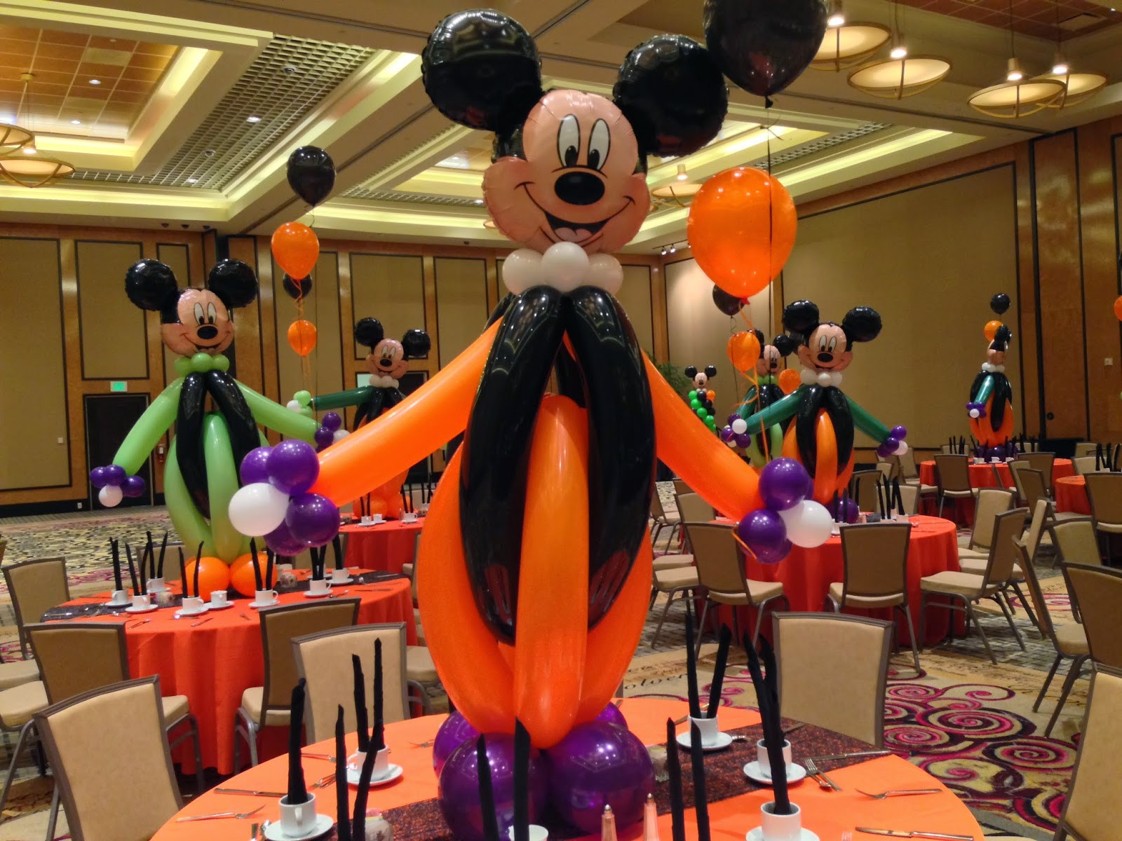 Mickey Mouse Halloween Party Ideas  DreamARK Events Blog August 2011