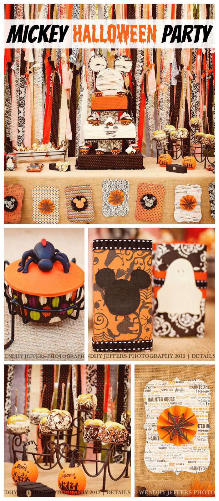 Mickey Mouse Halloween Party Ideas  A Not So Scary Mickey Mouse themed Halloween party with a