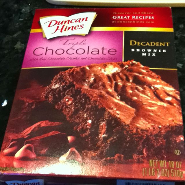 Microwave Brownies From Box  How to make brownies Buy a box Microwave it Done