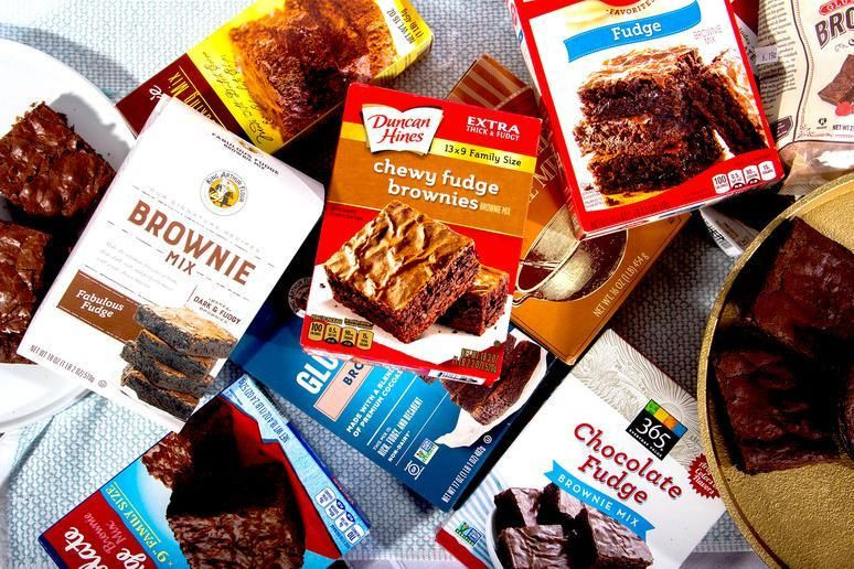 Microwave Brownies From Box  This is the best boxed brownie mix you can