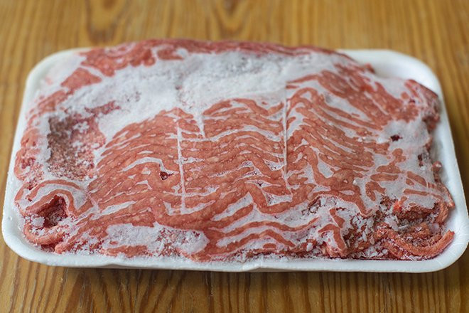 Microwave Defrost Ground Beef  How to Defrost Ground Beef Cook the Story