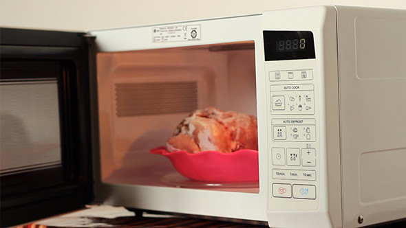 Microwave Defrost Ground Beef  Defrosting Meat on Microwave by Christian Fletcher
