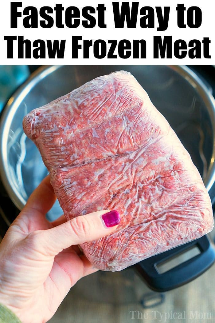 Microwave Defrost Ground Beef  How To Cook Instant Pot Frozen Ground Beef Thawed In No Time