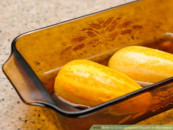 Microwave Spaghetti Squash  How to Cook Spaghetti Squash in Microwave with