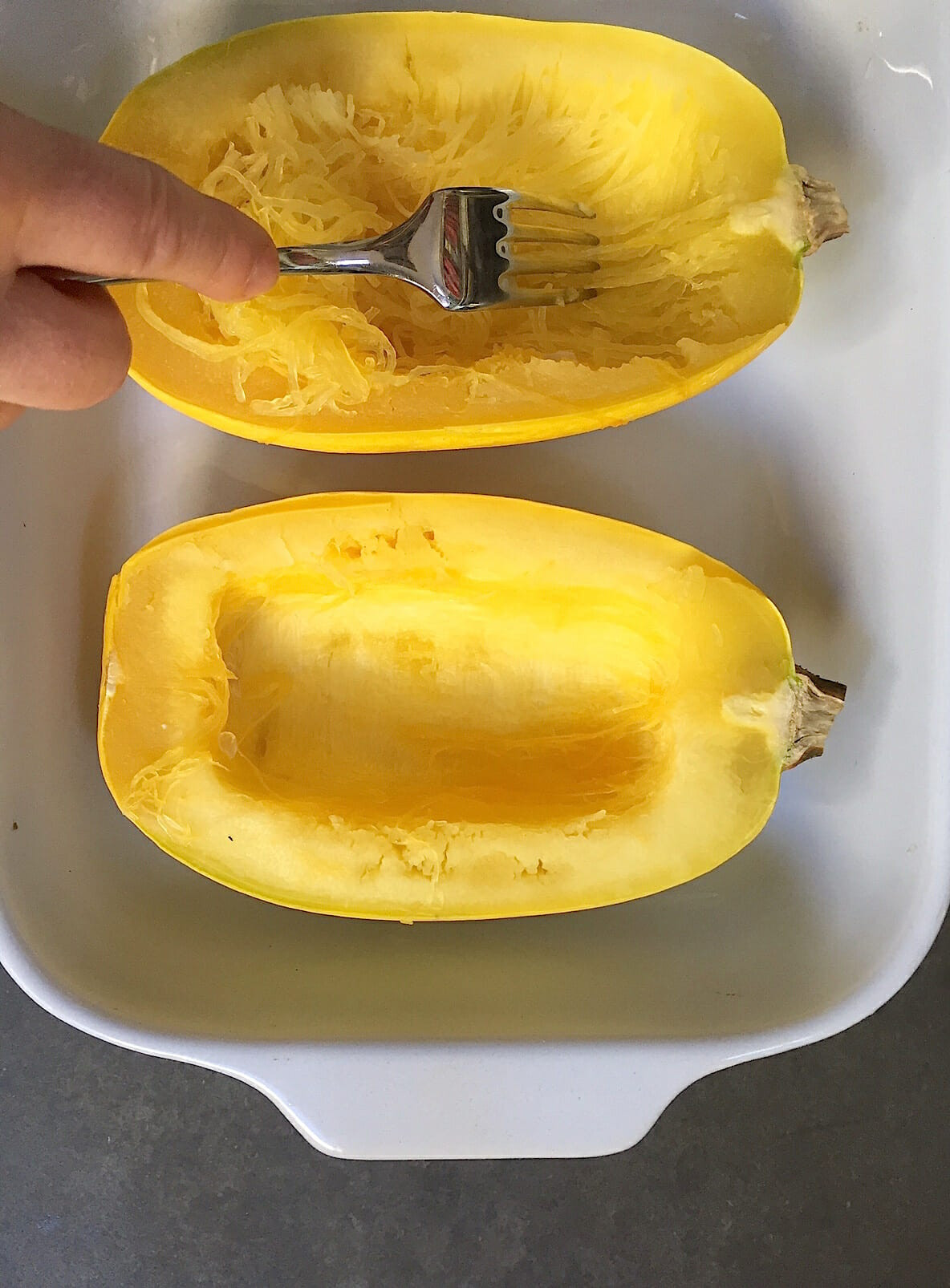 Microwave Spaghetti Squash  How to Cook Spaghetti Squash in the Microwave in just a