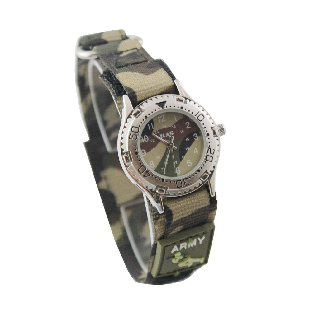 Military Gifts For Kids  Kids Army Camouflage Watch Nice Gift Box Wholesale