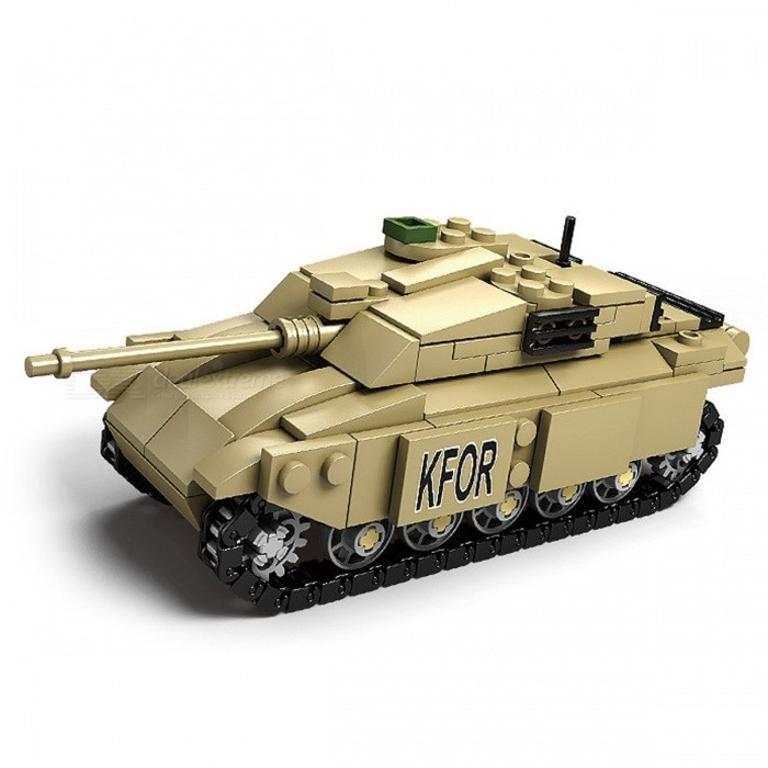 Military Gifts For Kids  DIY Eductional Toy Tank Building Blocks Sets Christmas