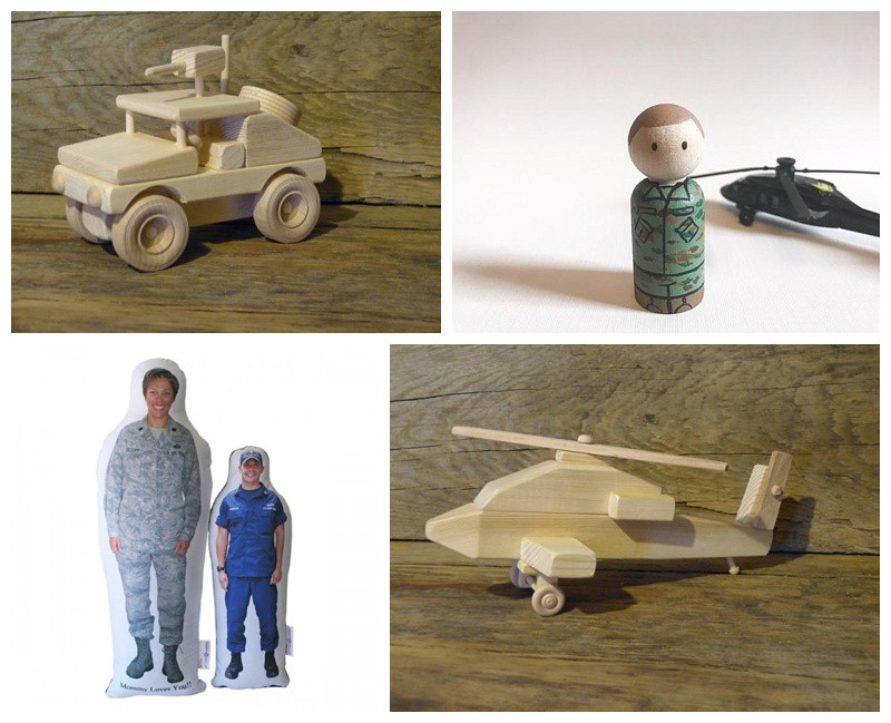 Military Gifts For Kids  Gifts for Military Kids Countdowns and Cupcakes