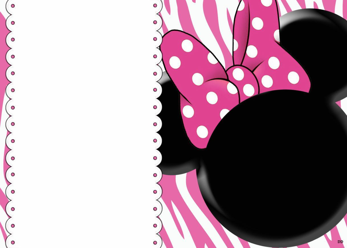 Minnie Mouse Baby Shower Invitations Party City  32 Superb Minnie Mouse Birthday Invitations