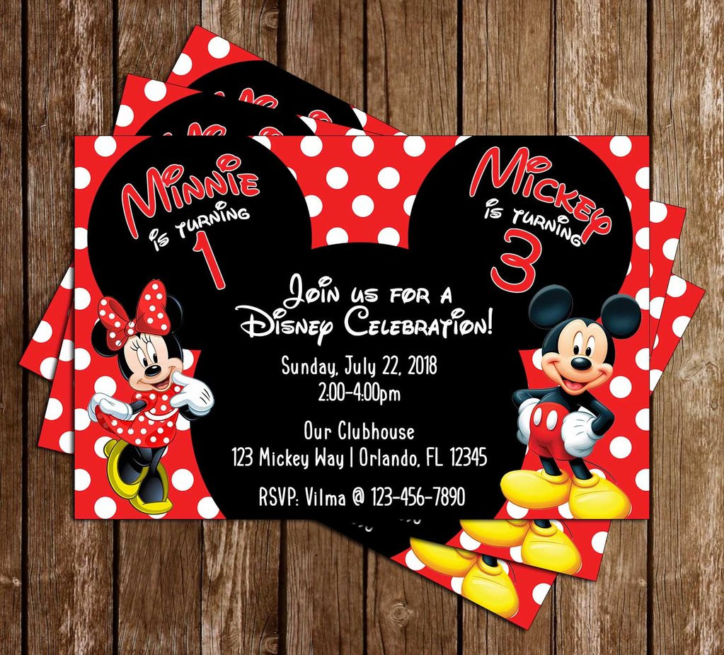 Minnie Mouse Baby Shower Invitations Party City  Novel Concept Designs Mickey Mouse & Minnie Mouse
