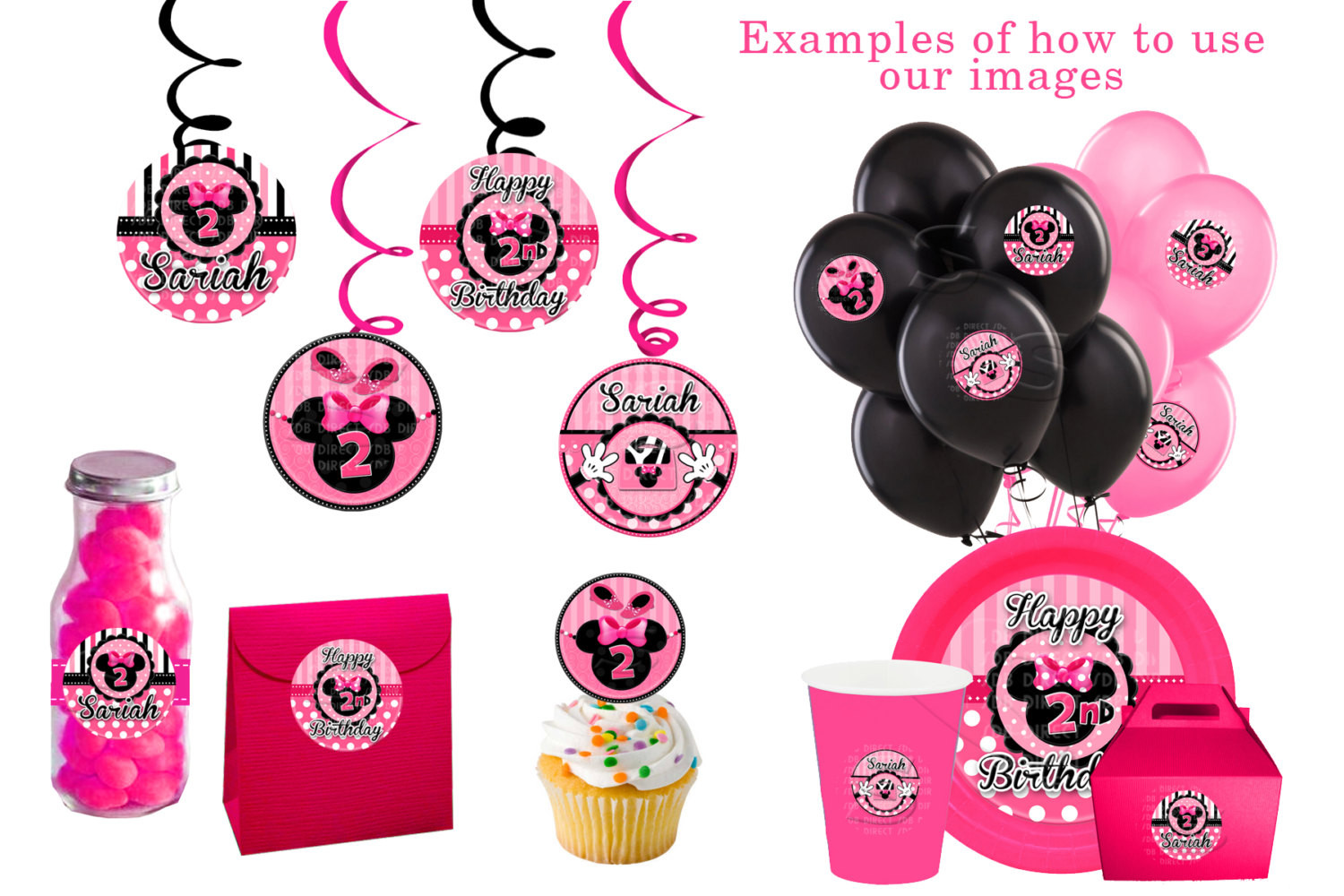Minnie Mouse Baby Shower Invitations Party City  Baby Minnie Mouse Baby Shower Decorations