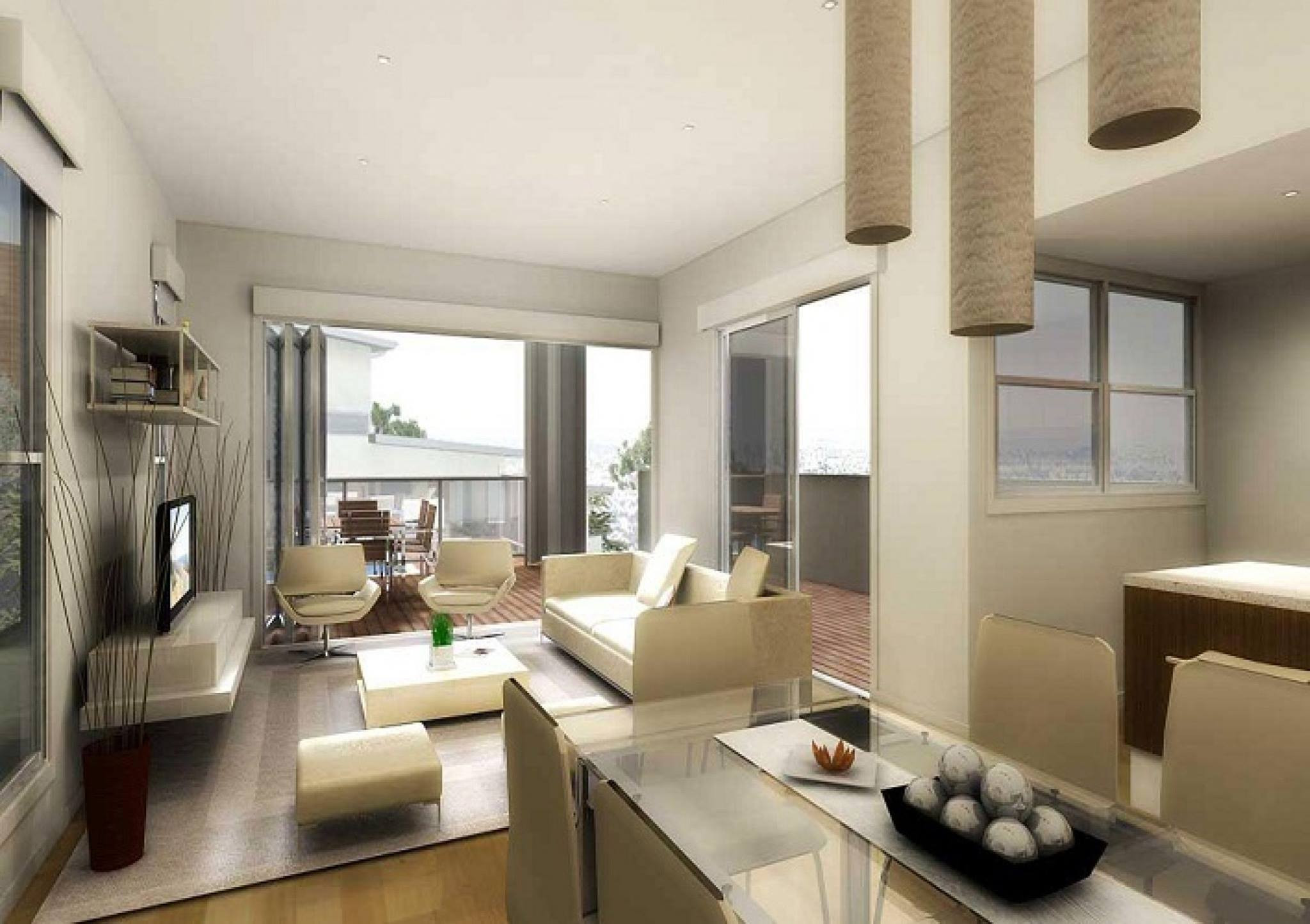 Modern Apartment Living Room  89 Amazing Ideas to Furnish Small Apartments to Turn Them