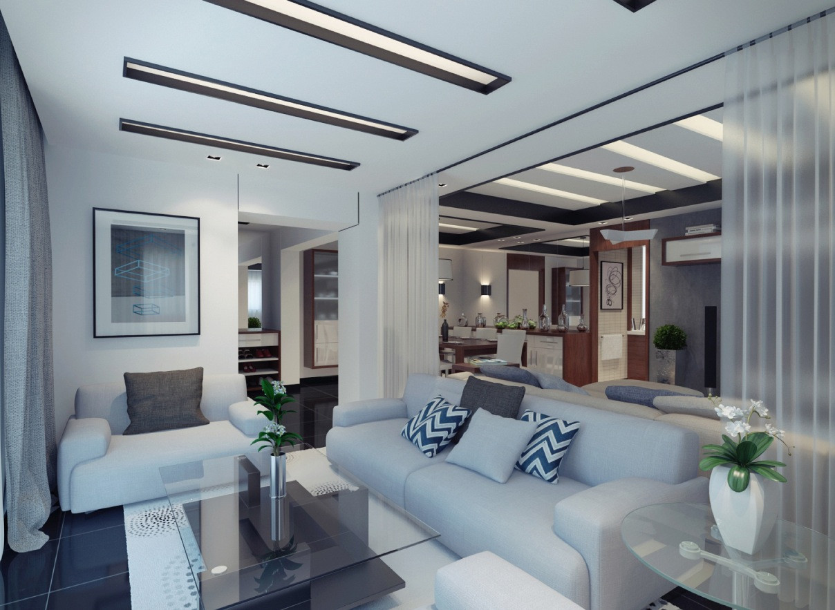 Modern Apartment Living Room  Three Modern Apartments A Trio of Stunning Spaces