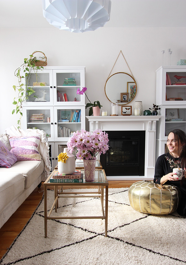 Modern Bohemian Living Room  Modern Bohemian Home 5 Tips To Enjoy Life In A Small House