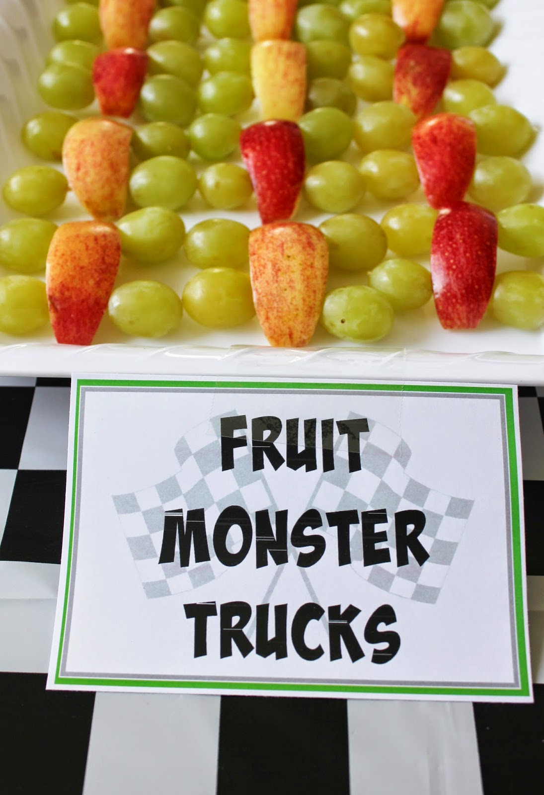 Monster Truck Birthday Party Food Ideas  Monster Truck Birthday Party