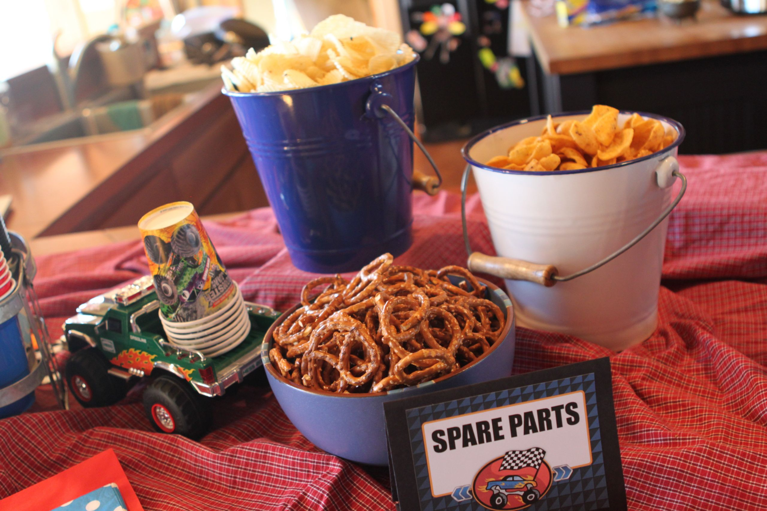 Monster Truck Birthday Party Food Ideas  monster truck