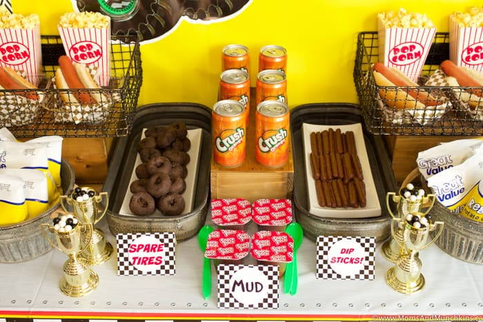 Monster Truck Birthday Party Food Ideas  Monster Truck Birthday Party Ideas Moms & Munchkins